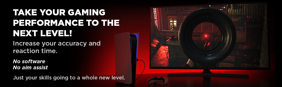 HipShotDot A+ Header Image - Take your gaming performance to the next level!
