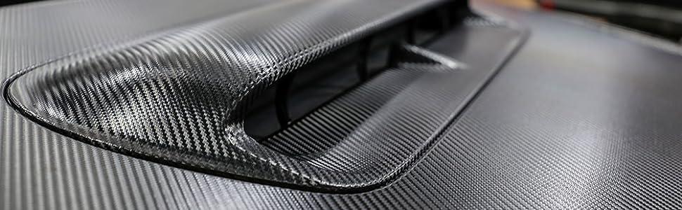 3M 2080 MX12 Matrix Black 4in x 6in Vinyl Vehicle Car Wrap Film Sheet Roll Sample Size