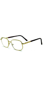 Super Strength III High magnification reading glasses readers in style eyes metal fram