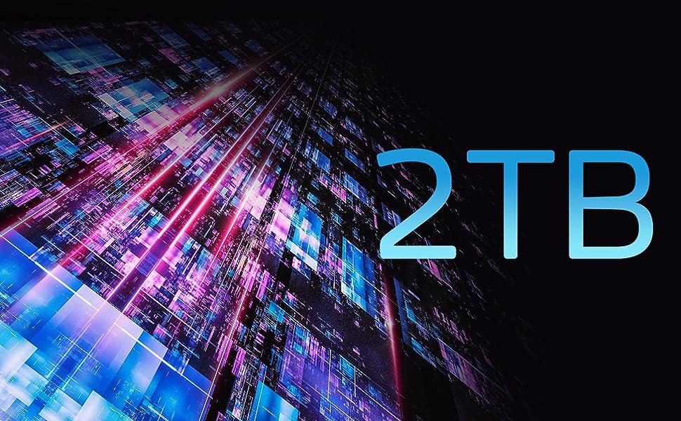 2TB GAMMIX S70 PCIE 4.0 NVME 1.2 SSD