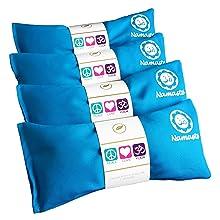 Happy Wraps Namaste Lavender Yoga Eye Pillow - Turquoise