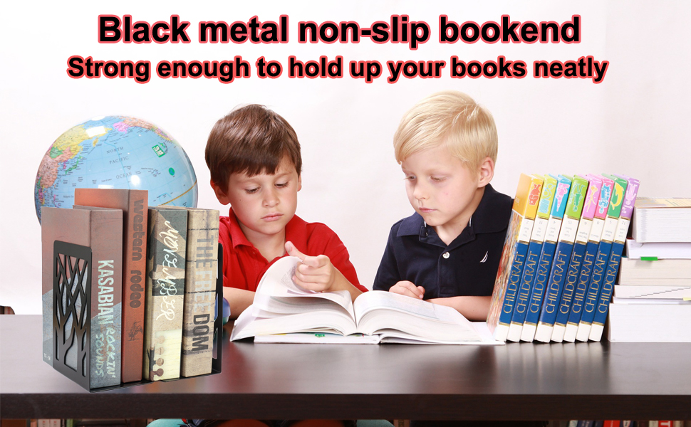 Metal Bookend