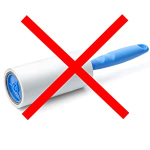 no more lint rollers