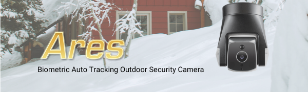 Ares Outdoor Auto Tracking Security A.I. Cam