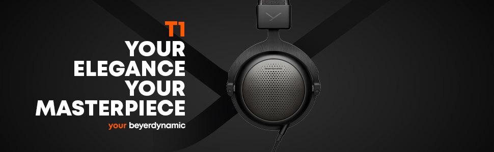 Amazon.com: beyerdynamic T1 High-end Tesla Headphones (3rd ...