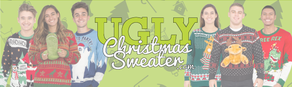 ugly christmas sweater banner