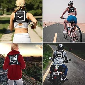running reflective backpack vest minimalist ipad mini tablet iphone android bike
