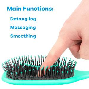massaging hair brush