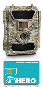 4g lte cellular trail camera