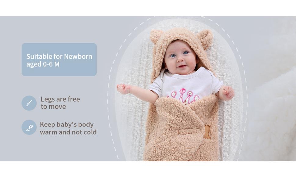 newborn baby girl cloth baby shower gifts swaddle blankets baby blanket cute newborn girls blanket