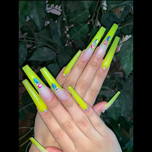 artificial extra long stiletto nails