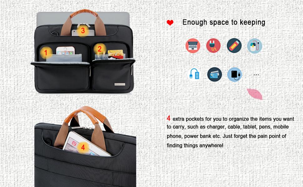 13 Zoll Laptophülle Laptoptasche für 13,3 Zoll Neu/Alt Macbook Air/Macbook Pro