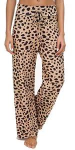 leopard women lounge pants