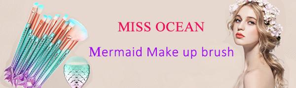 MISS OCEAN Mermaid make up brush
