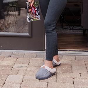 longbay lady slip on slippers