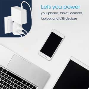 lets power your phone, table