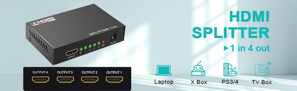 Multiport HDMI Splitter