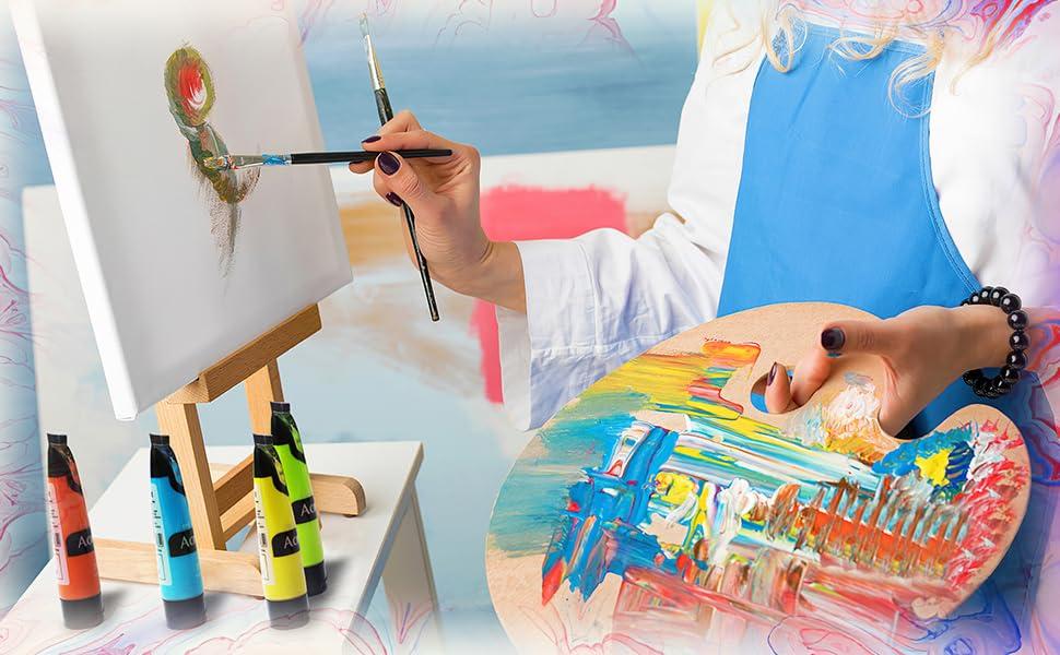 Acrylic paint kit 3
