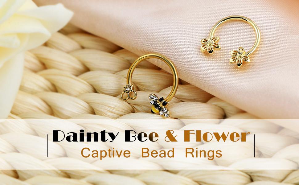 captive bead ring