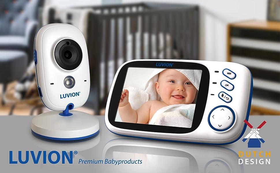luvion, babyfoon, babyphone, babymonitor, camera, baby