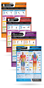 Muscle Building, Body Conditioning & Exercise Equipment Fitness Posters