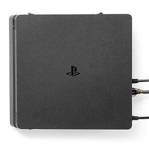 Borangame Filo Vertikale Stahl Wandhalterung Für Playstation 4 Pro Ps4 Pro Ständer Mit Ausgezeichneter Wärmeableitung Vertikale Wandbasis Für Playstation 4 Pro Games