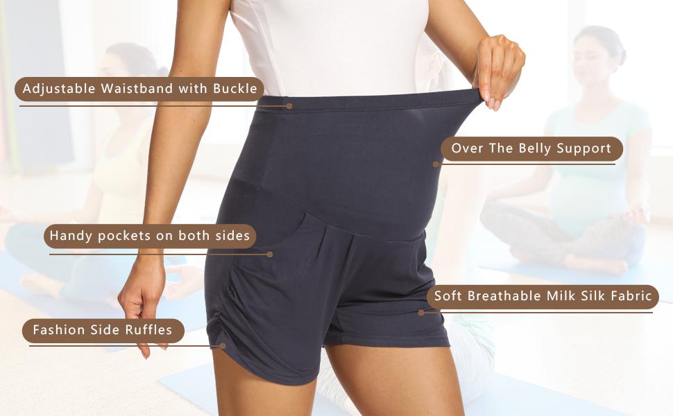 maternity athletic shorts