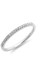 Sterling Silver Dazzlingrock Collection 0.08 Carat ctw Round Cut White Diamond Mens Double Row Anniversary Wedding Band