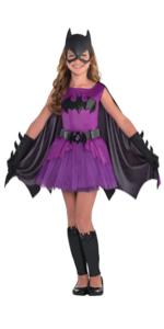 batgirl batman superhero halloween costume purple black crime fighter vigilante comic book movie