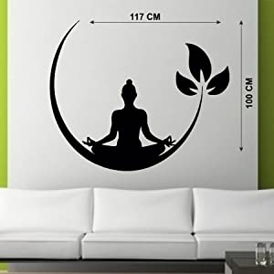 buddha wall stickers for living room