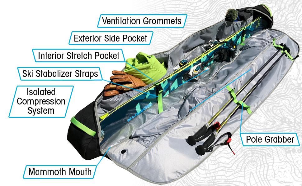 kantaja ski bag quality gear