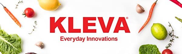Kleva range, Kleva, Logo, Sumo Slicer, Vegetable Slicer, Food slicer, Mincer, Grater, Food Processor