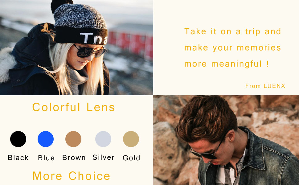 LUENX Sunglasses