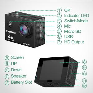 sport video camera