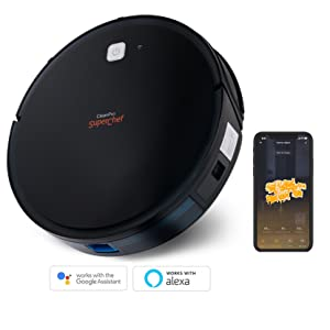 SuperChef Robot Aspirador SF425 CleanPro WiFi, App, Compatible con ...