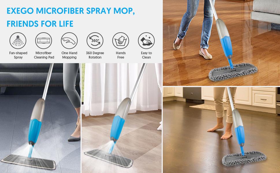 spray mop floor mop