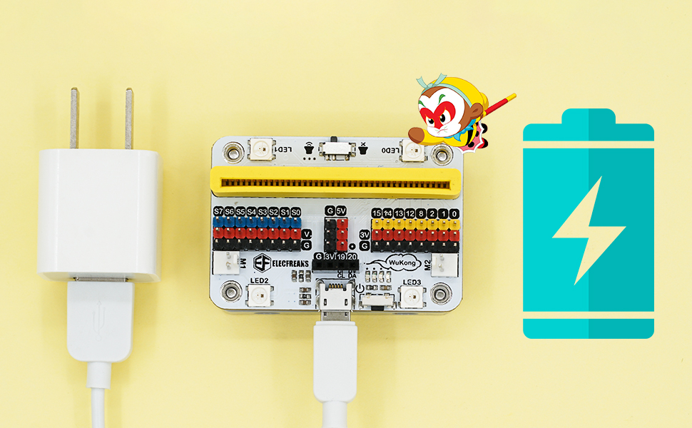 microbit quick charge