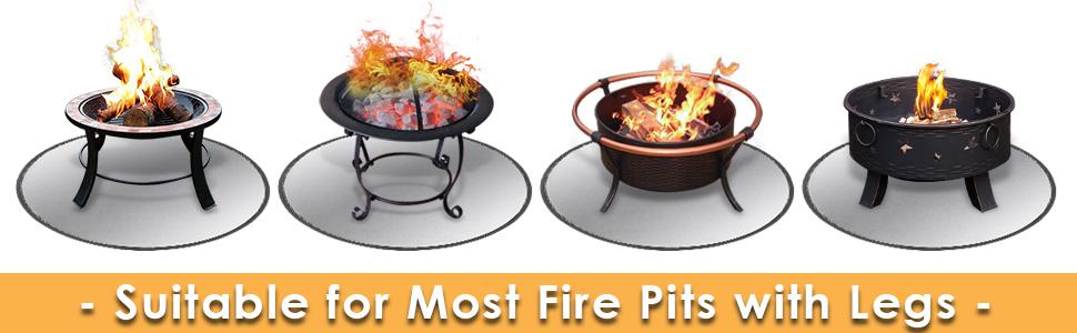 FIRE PIT MAT