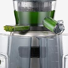 Licuadora Prensado Frio, Aicook 3 en 1 Licuadora para Frutas ...