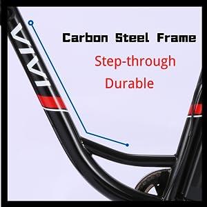 Low-step frame