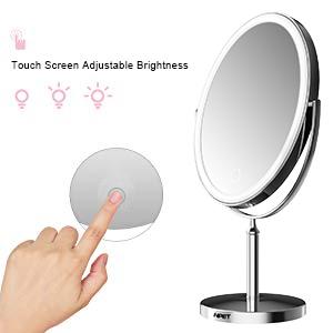 brightness makeup mirror
