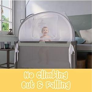 Coj/ín trenzado a mano medidas 200 cm x 15 cm x 8 cm gris Protector de cuna para beb/é acolchado Protecci/ón de cuna de 2 m de longitud Protege la cabeza de los brazos de las piernas