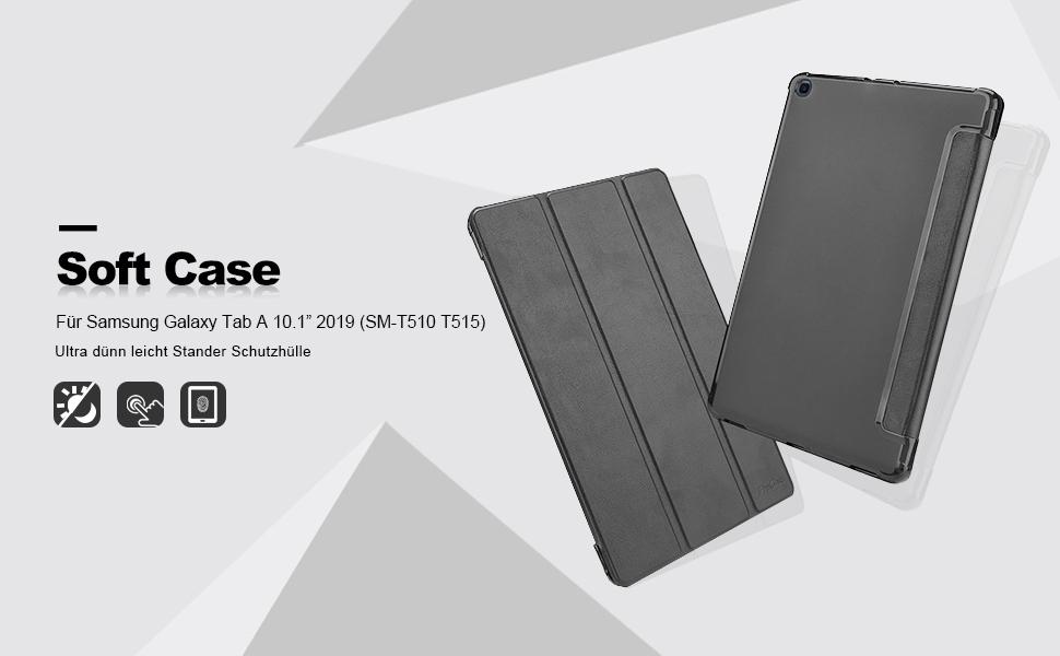 Procase Hülle Für Galaxy Tab A 10 1 2019 Weiche Computer Zubehör