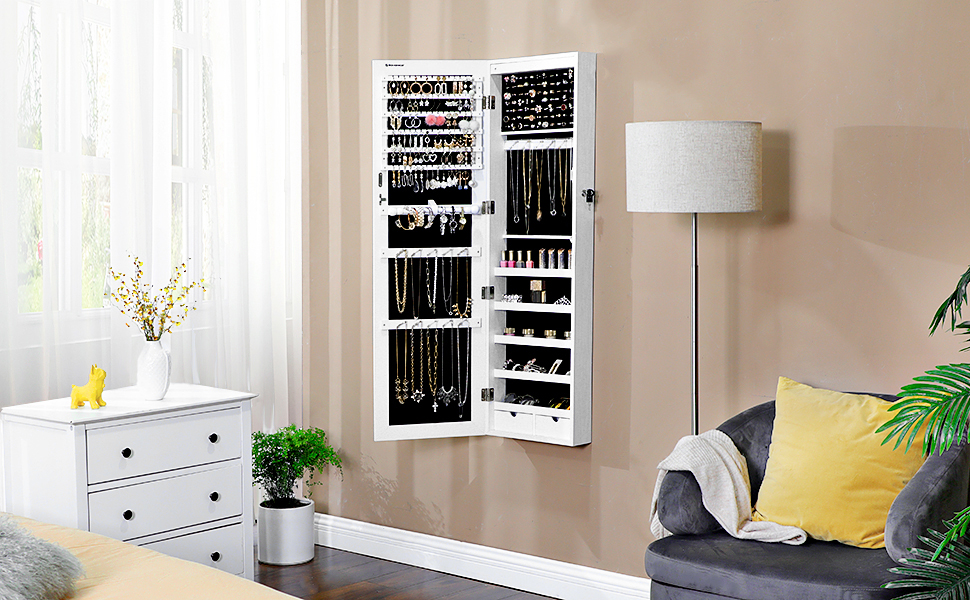Hanging Jewelry Cabinet