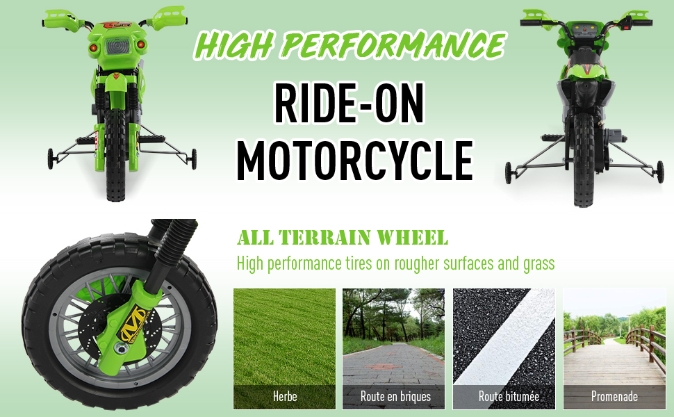 ride on motorcycle