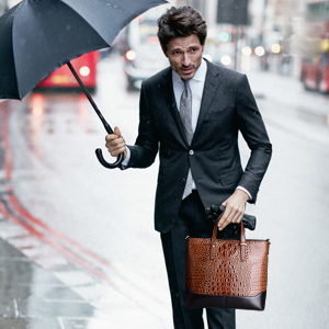 Business leather Bag for Man