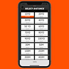 select a distance