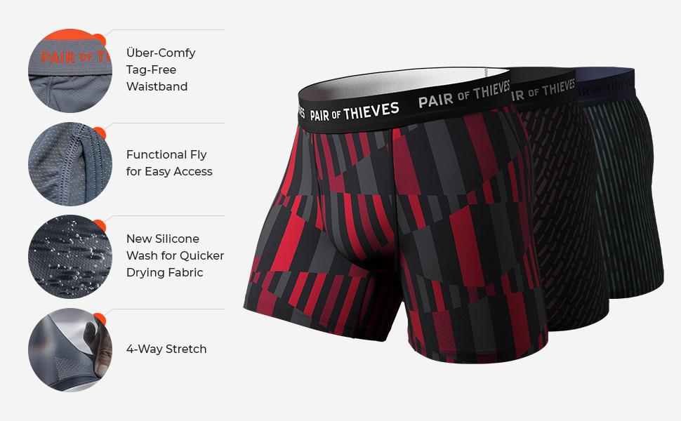 featurs benefits performance underwear