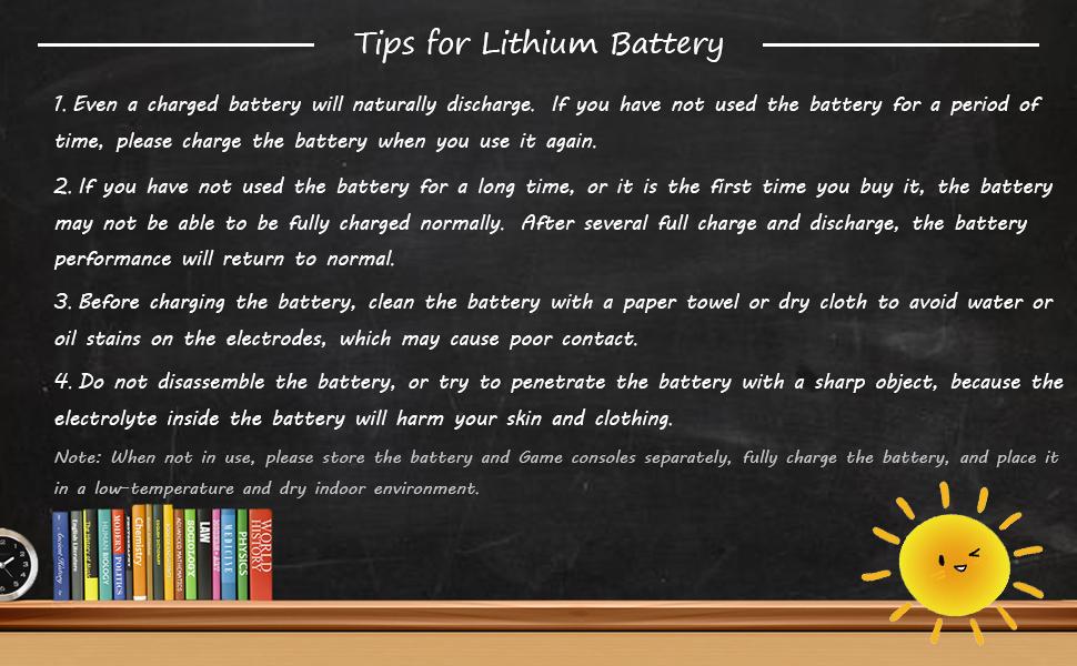 Tips for Battery