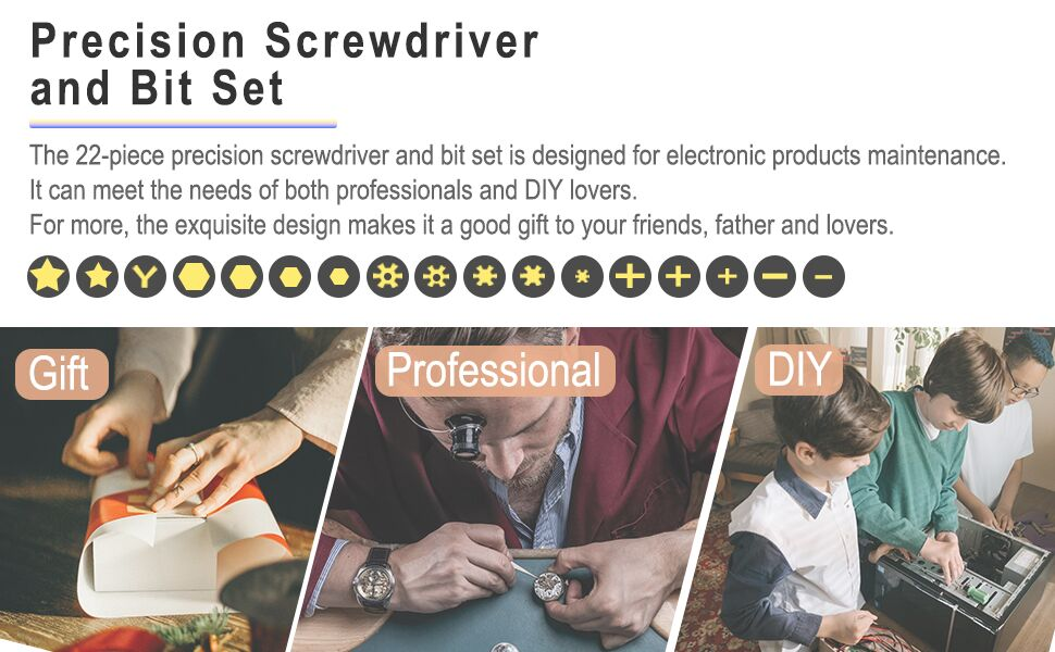 precision screwdriver kit